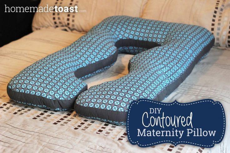 DIY Contoured Maternity Pillow