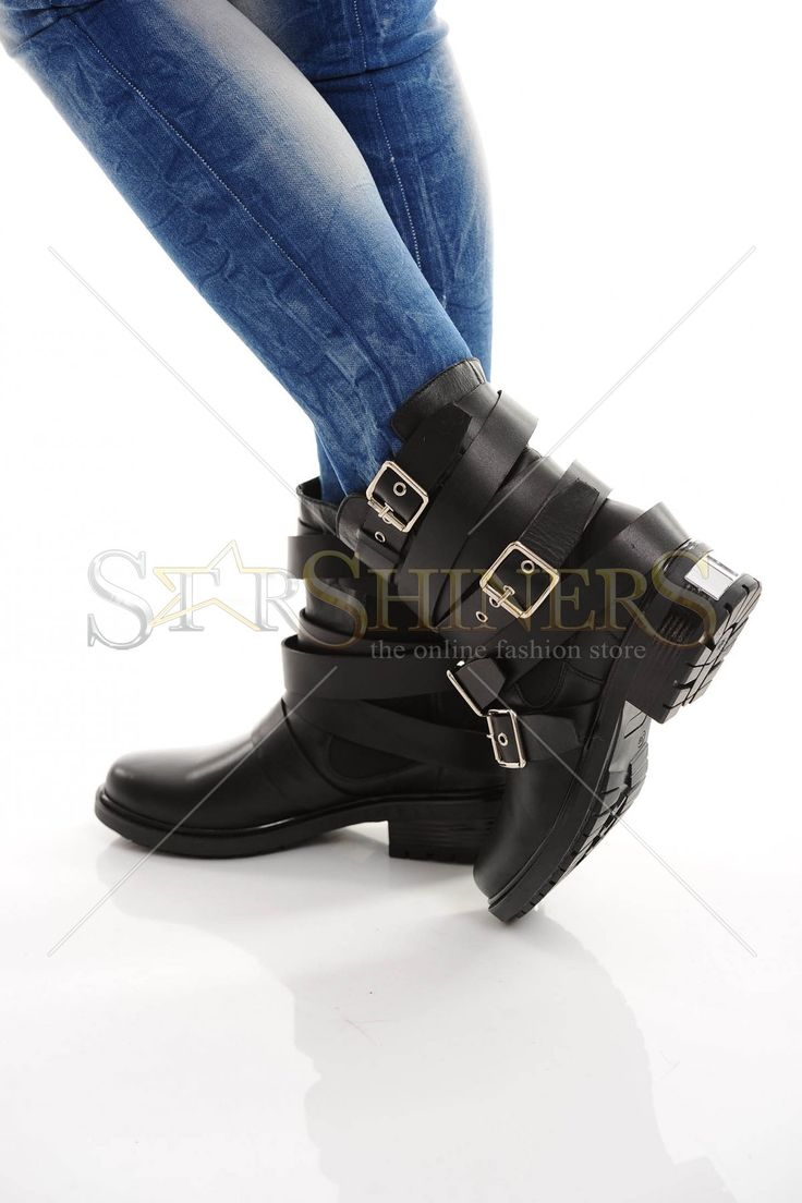Mexton Natural Dust Black Boots