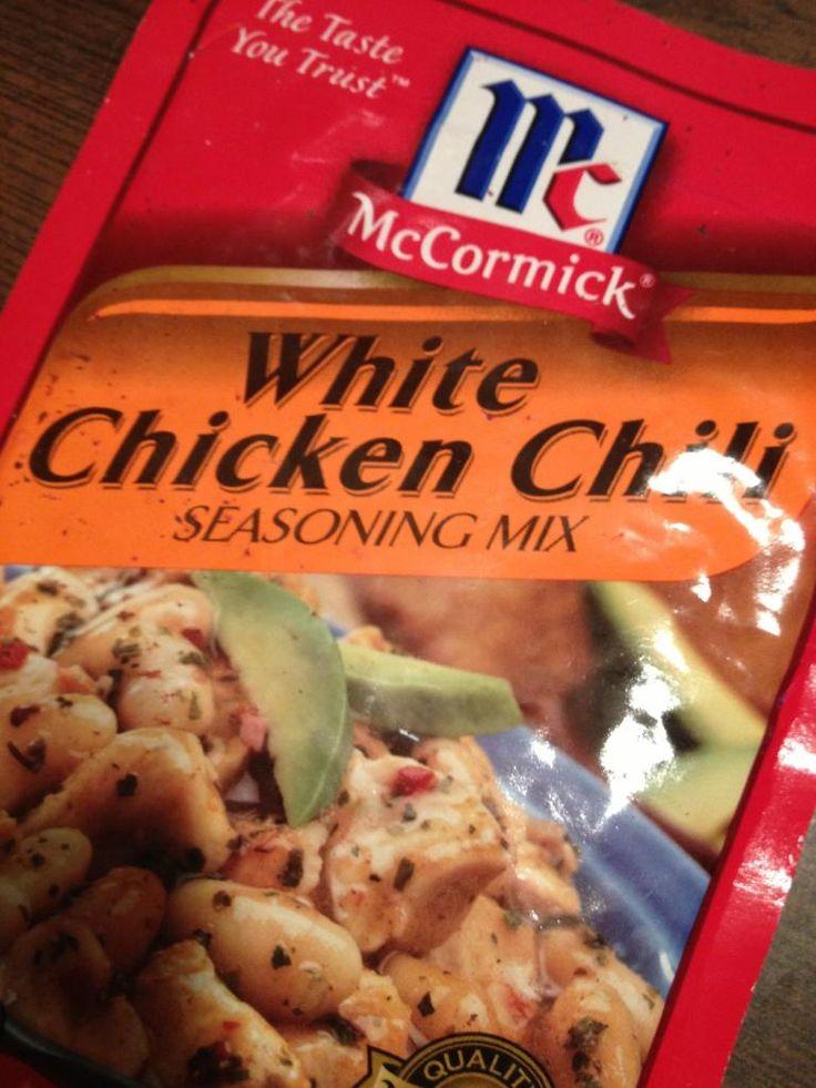 ... White Chicken Chili, super easy, super good! #chicken #chili #fallfood