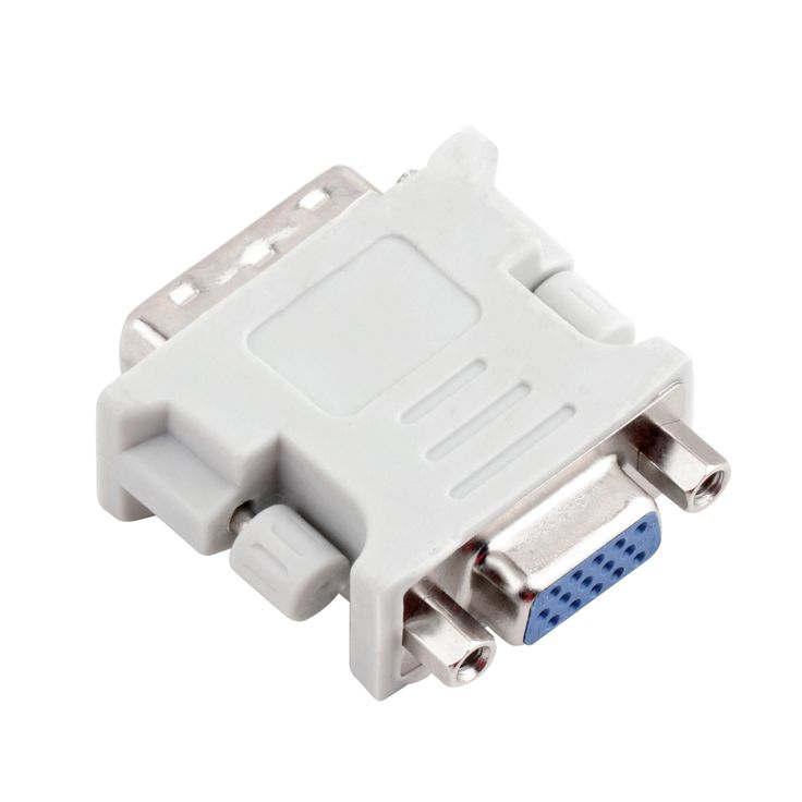Gold plated ATI DVI to vga connector DVI-I(A/D) to VGA male to female 24+5 pin to 15 Pin Adapter Convert Hot New Arrival