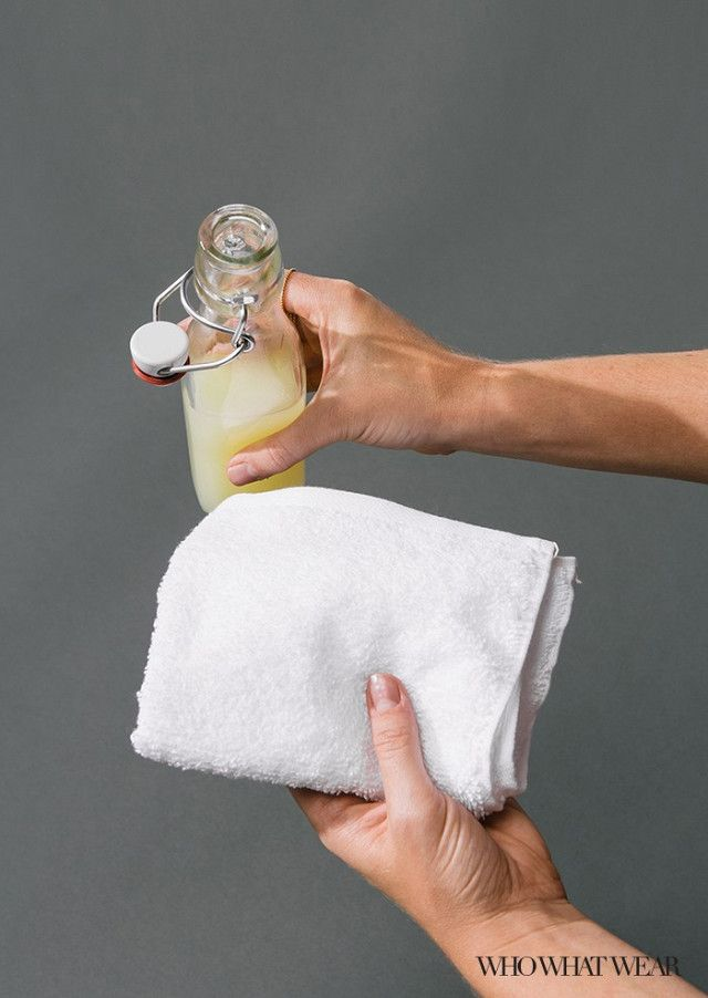 How to Get Rid of Yellow Underarm Stains in 20 Seconds Flat