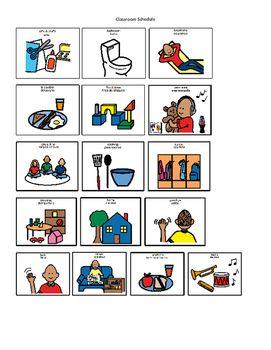 Boardmaker Classroom Schedule Icons Classroom Schedule