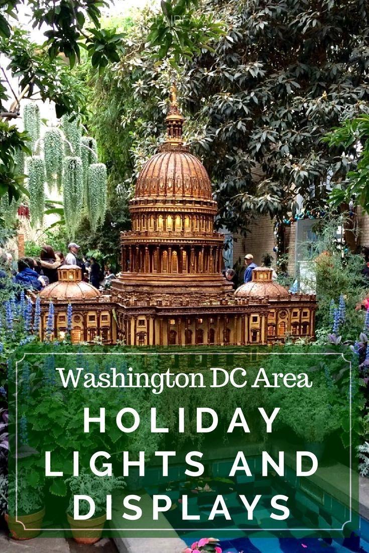 Holidays Washington DC, Virginia, Holiday lights in the Washington DC and Northern Virginia area offer dazzling professional displays, plus several neighborhood extravaganzas to amp up your holiday spirit. #holidays #holidaylights #WashingtonDC #Virginia