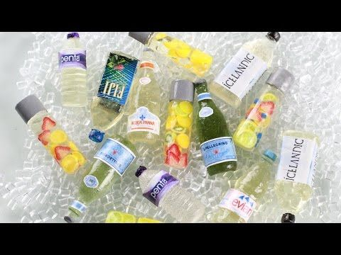 Water Bottles : How To Make Miniature Clear Drink Bottles - UV Resin Magic Glos - YouTube