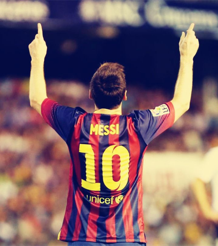 Messi best player in the world