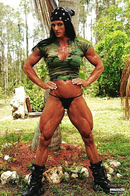Allison moyer muscle babe