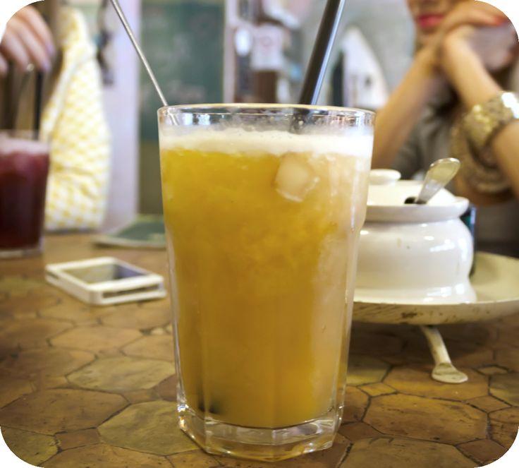 Icy lemonade with syrup  http://www.budapestwithus.hu/blogger-kerekasztal/