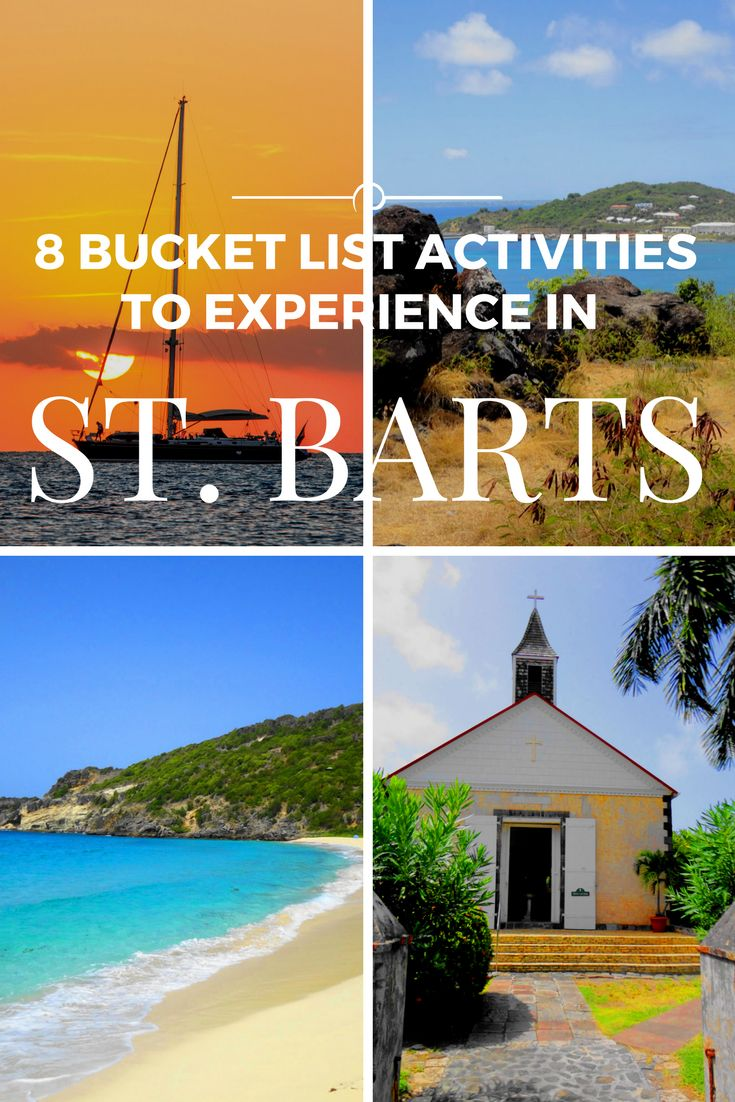 St Barts bucket list- what to do in St Barts