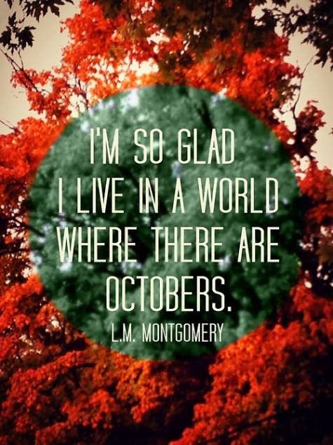 Favorite Fall Quote