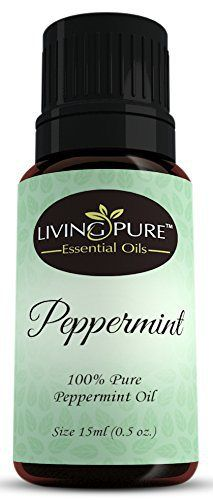 #1 Peppermint Essential Oil - Pure Peppermint Oil by Living Pure Essential Oils - Aid Indigestion and Freshen Rooms - Natural Headache Relief - 100% Organic Therapeutic & Aromatherapy Grade - 15ml - http://www.theperfume.org/1-peppermint-essential-oil-pure-peppermint-oil-by-living-pure-essential-oils-aid-indigestion-and-freshen-rooms-natural-headache-relief-100-organic-therapeutic-aromatherapy-grade-15ml/