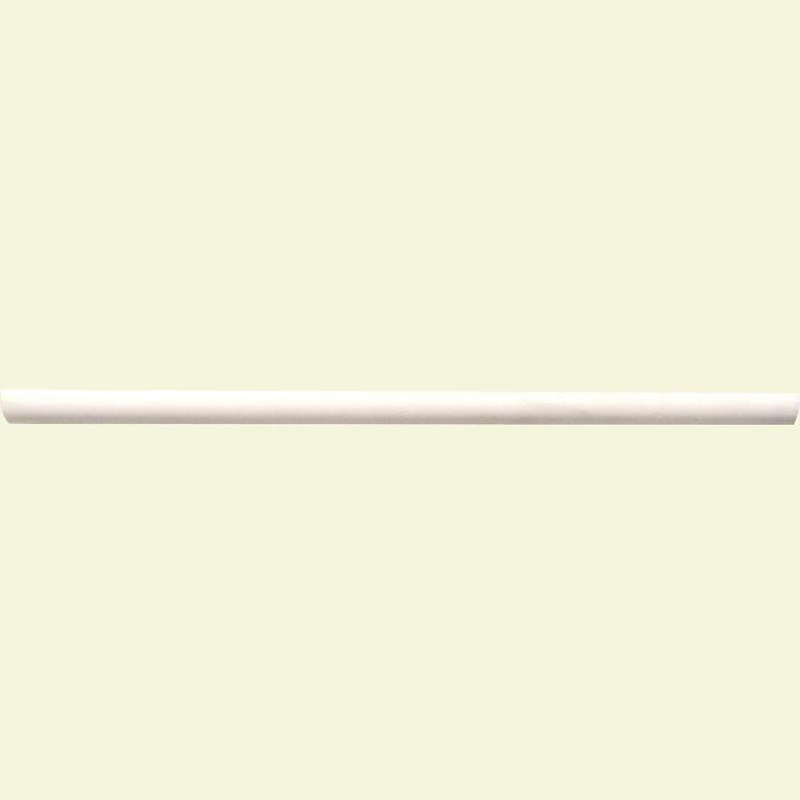 Ms International Cappuccino 12 In X 12 In Polished: MSI Greecian White Pencil Molding 3/4 In. X 12 In
