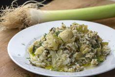Πρασόρυζο... Μια συνταγή για ένα πιάτο, που για τους περισσότερους είναι ένα από τα πλέον ταπεινά φαγητά της Ελληνικής κουζίνας... και που θα το μετατρέψει