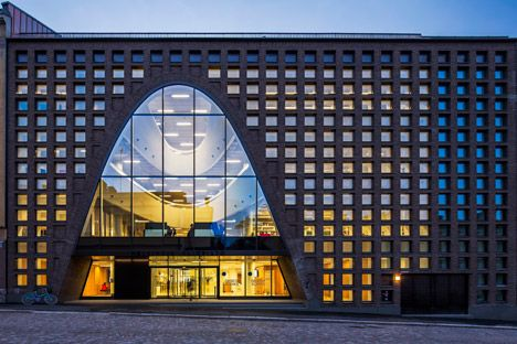 Curving Voids Pierce The Floors Of Anttinen Oiva Architects' Helsinki Library | 2014 Interior Design