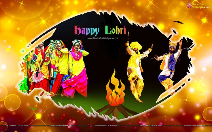 Happy Lohri HD Wallpaper Full Size Free Download | Lohri
