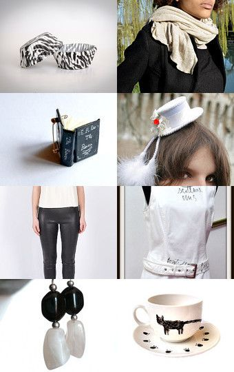 Black or white by RiGaSisters on Etsy--Pinned with TreasuryPin.com