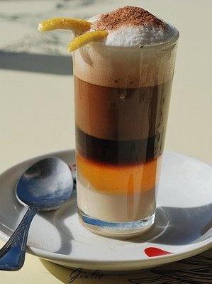 Rossa di sera: Barraquito, il caffé alla canaria
