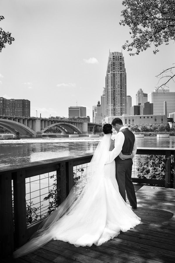 Nicollet Island Pavilion Minneapolis MN WeddingPhotography