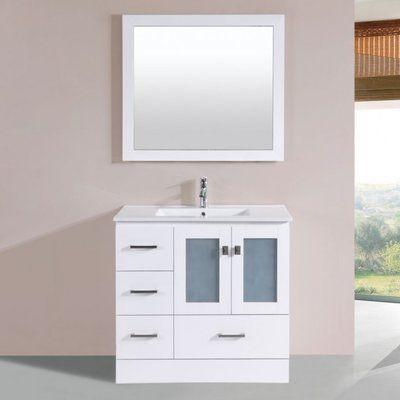 Senza Tuscany 34 Double Bathroom Vanity Set With Medicine Cabinet Vanity Furniture Vanity Single Bathroom Vanity