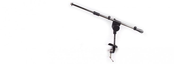 Studio Series Microphone Boom Stand for Vocal Booth and Condensor Microphones   Editors Keys