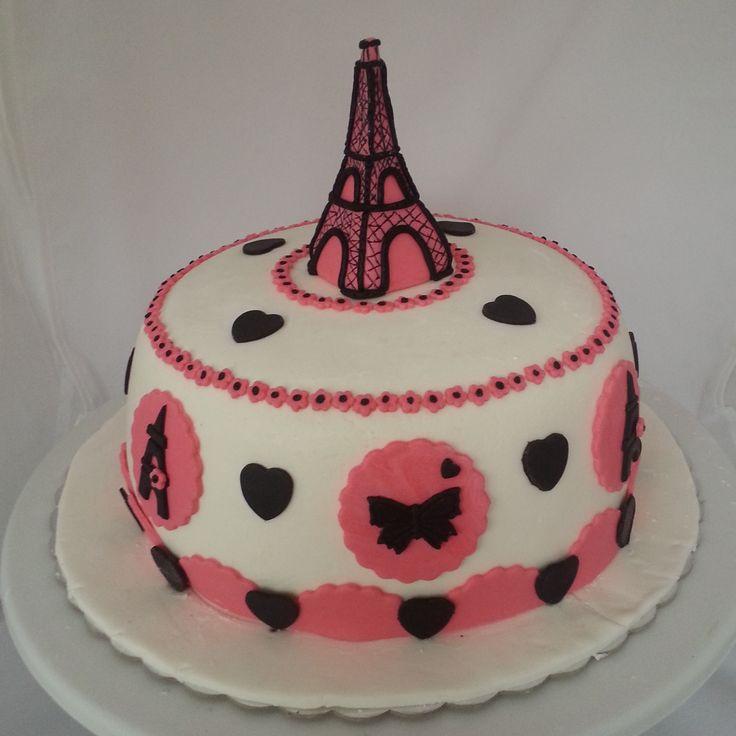 Paris Temalı Pasta  www.kutukutuyense.com