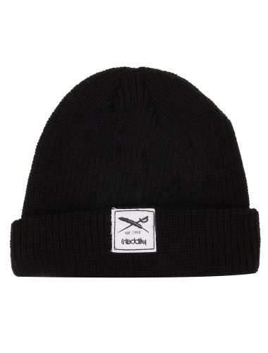 Kreuzkoelln Beanie [black] // IRIEDAILY FALL WINTER 2015 COLLECTION – WE CAN BE HEROES. // OUT NOW: http://www.iriedaily.de/