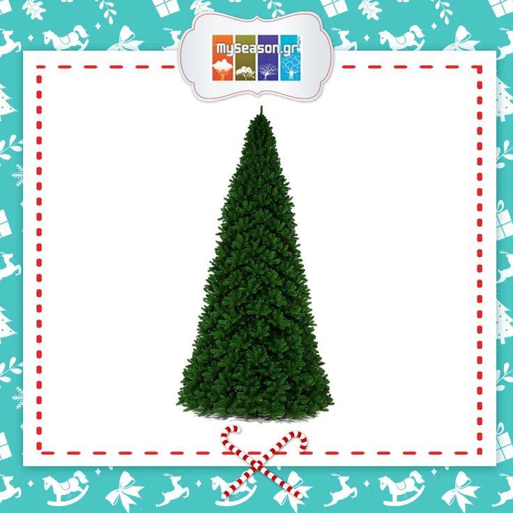 Χριστουγεννιάτικο #δέντρο Giant Tree ύψους 9 μέτρων και διαμέτρου 360 εκατοστών με μεταλλικό κορμό και αποσπώμενα κλαδιά. Ιδανικό για επαγγελματικούς χώρους αλλά και για εξωτερικούς χώρους! Θα το βρείτε στο #MySeason ανάμεσα σε μια τεράστια ποικιλία προϊόντων.  https://goo.gl/awvI3o  #christmas #christmas2016 #christmasshopping #christmasdecor #xmasdecor #outdoors #holiday #festiveseason