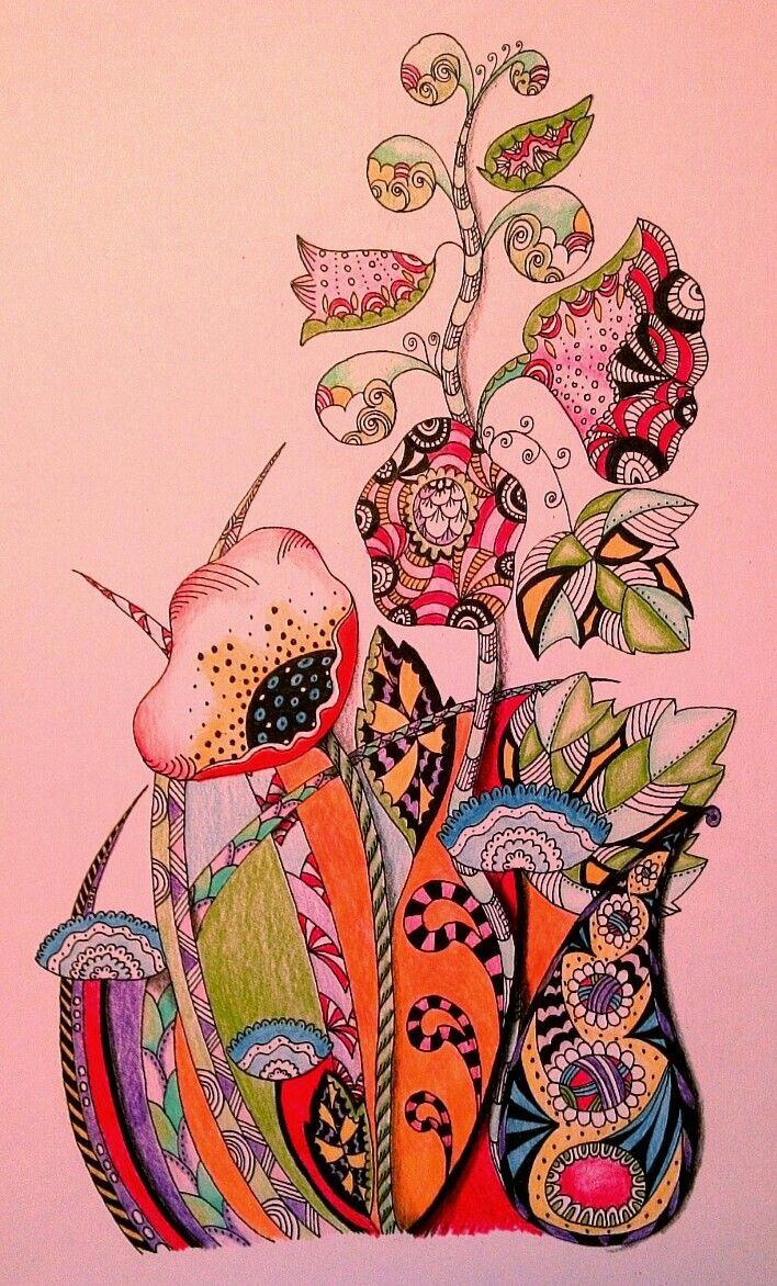 #doodle #zentangle #ornamental art #graphics