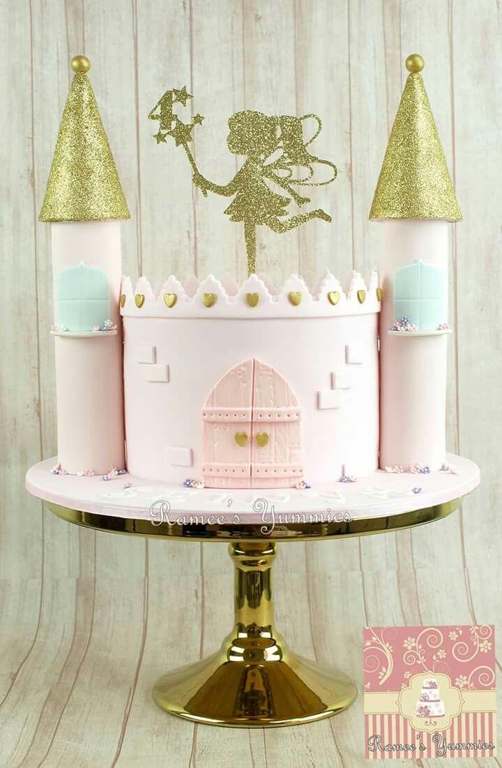 Cute castle cake                                                                                                                                                                                 More