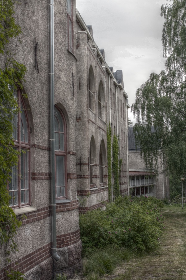 Abandoned Mental hospital in Nurmijärvi, Finland