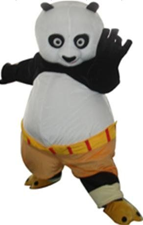 Popular Kung Fu Panda Mascot Costume Cartoon Character Costume Free Shipping-in Costumes from Apparel & Accessories on Aliexpress.com