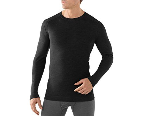 Smartwool Mens NTS Mid 250 Crew Black Medium  Past Season * Read more reviews of the product by visiting the link on the image. This is an Amazon Affiliate links.