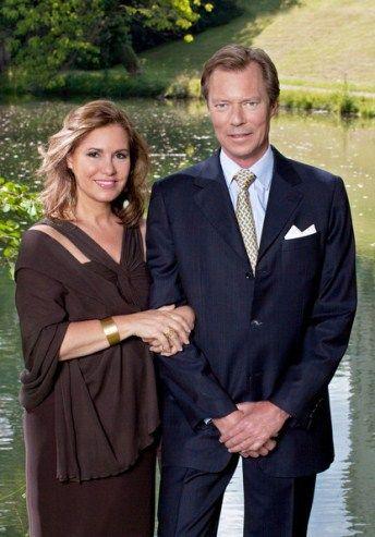Noblesse & Royautés » Grand Duchess Maria Teresa and Grand Duke Henri of Luxembourg