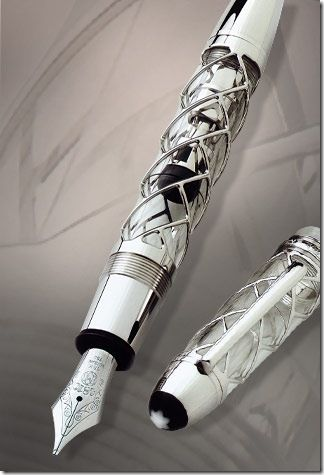 Every dad needs a cool pen! Montblanc Skeleton 333 Limited Edition #greatguygiftguide