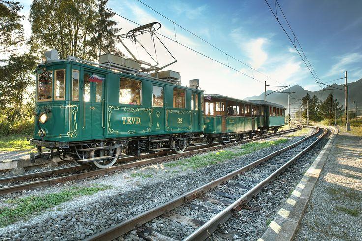 Tram in Tatry mountain