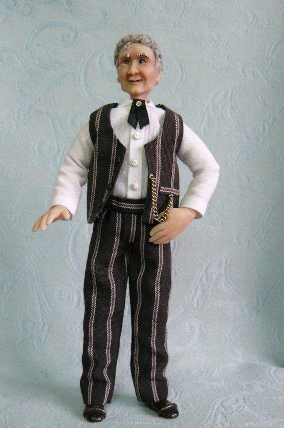 Doll 1 12 scale dollhouse miniature Ooak Artist by dollsminiature