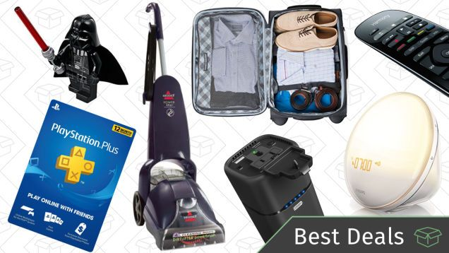 Sunday's Best Discounts: Luggage, Wake-Up Lights, Logitech Harmony, and More