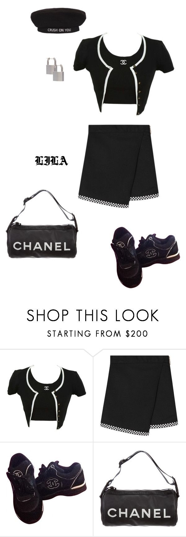 """""""Alexis Texas"""" by fashionoise ❤ liked on Polyvore featuring Chanel and Lauren Klassen"""