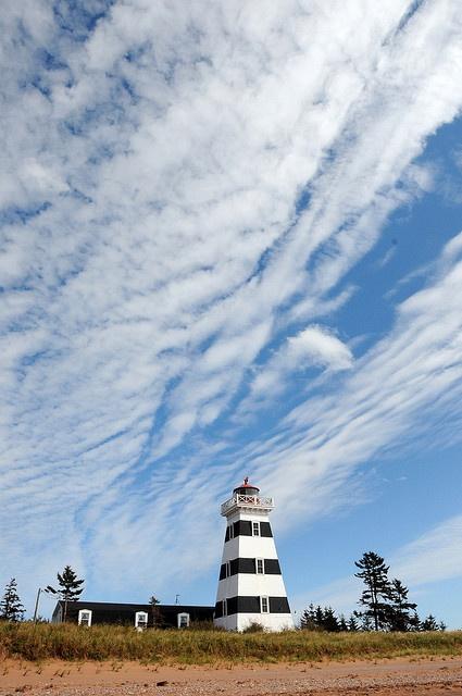 West Point Lighthouse Inn (PEI, Canada). #PEI #ExploreCanada