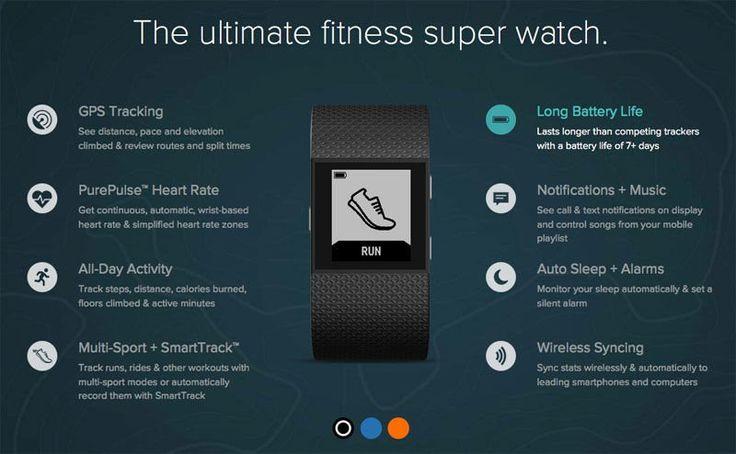 Fitbit Surge description