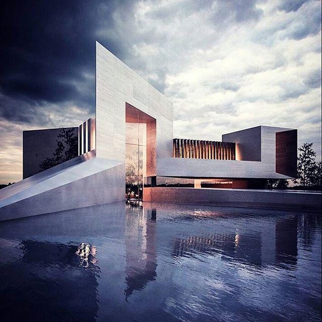Modern Architecture Defining Contemporary Lifestyle In: Architecture Inspiration: Abu Dhabi Villa Design In