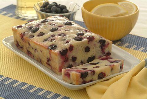 Lemon Berry Bread - Kidney-Friendly Recipes - DaVita