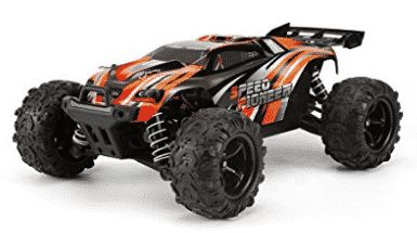FunTech Rc Cars, RC Electric Racing Car, Remote Control Off Road Monster Truck