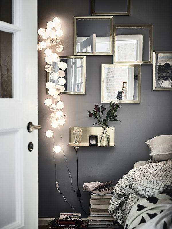 Stämningsbelysning i sovrummet är viktigt #bright123 #brightbelysning