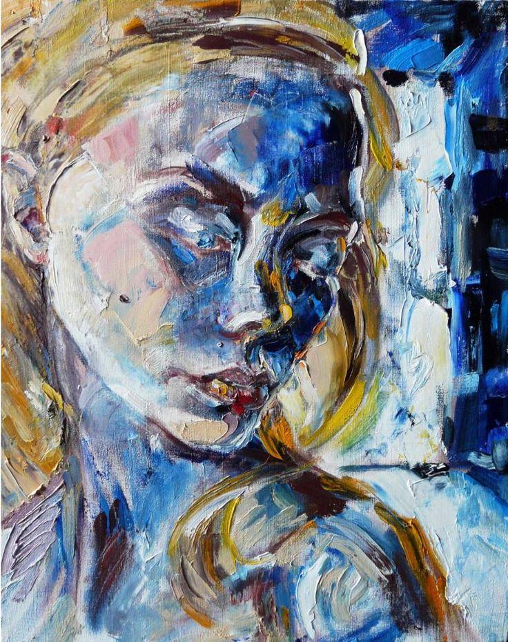 """Saatchi Art Artist Indie Ru; Painting, """"Hope or hopelessness?"""" #art"""