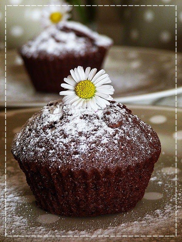 Čokoládovo - kávové muffinky