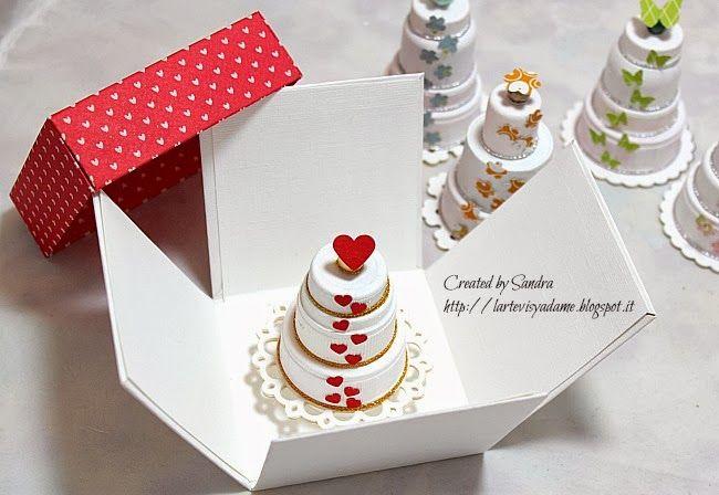 ...L'Arte vista da me...: Come riutilizzare i tappi di plastica per creare delle piccole torte - Riciclo creativo + SONDAGGIO