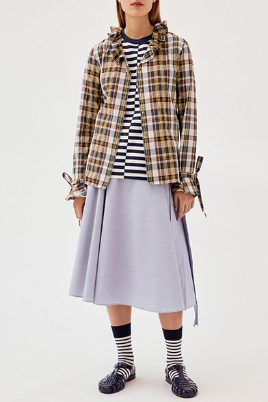 79d6b016b Pin by Dolsi Dolsi on Sewing: ideas   Plaid skirts, Uniqlo, Fashion