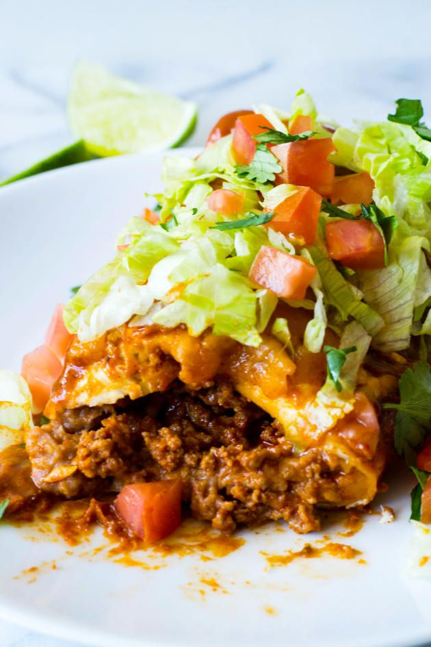 Smothered Burrito will bring the entire family running to the table. Sure to become a favorite!