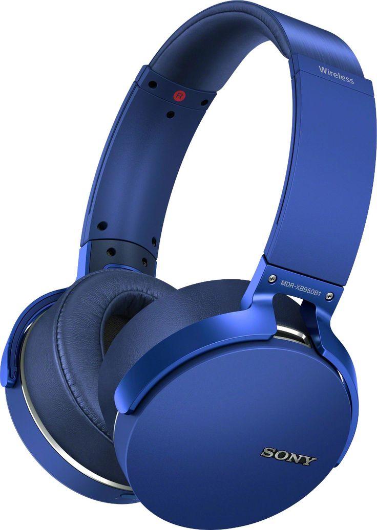 Sony XB950B1 Extra Bass Wireless OvertheEar Headphones