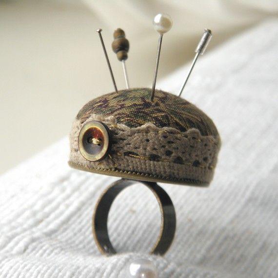 pin cushion ring!